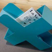 Bukan-Zeitschriftenstaender-Mox-Stahlblech-weiss-schwarz-rot-Design-Charles-O.-Job-12