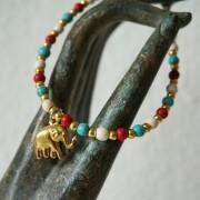 24-Perlenarmbaender-tuerkis-rot-weiss-und-gold-glanz-mit-Elefaentchen-weiss-und-gold-glanz-rot-weiss-und-gold-glanz-farbig-fuer-den-Sommer