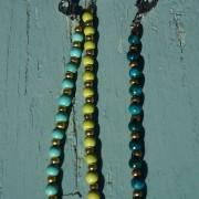 3-Farbige-Sommer-Perlenarmbaender-SeedBeads-tuerkis-und-gold-glanz-acqua-dunkelund-gold-glanz-limonengelb-und-gold-glanz-farbig-fuer-den-Sommer