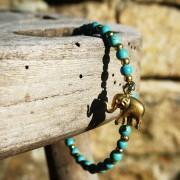 8-Perlenarmbaender-Elefant-und-tuerkis-und-gold-glanz-acqua-dunkelund-gold-glanz-limonengelb-und-gold-glanz-farbig-fuer-den-Sommer