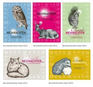 5-freunde-bruchweihnachten-postkarten
