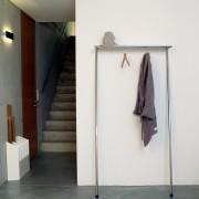 Anlehn - Garderobe ohne Montage