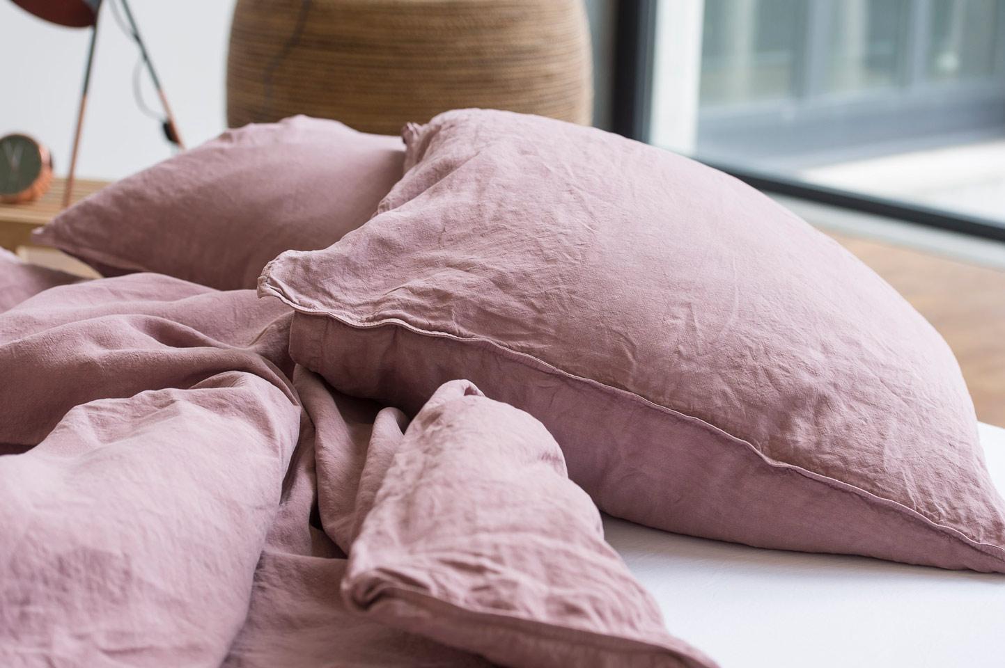 Linus Kissenbezug Leinen Bettwäsche Fresh Linen Collection
