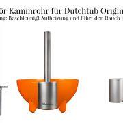 Zubehoer Kaminrohr Dutchtub Original 34